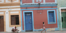 Calle de Olinda, Pernambuco, Brasil