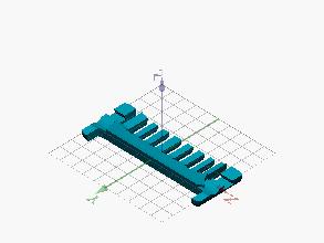 Pieza lateral impresión 3D