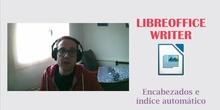 LibreOffice Writer - Títulos e Índice automático