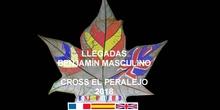 CROSS EL PERALEJO LLEGADA BENJAMÍN MASCULINO