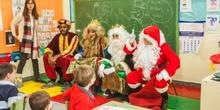 Los RRMM y Papá Noel en INF 5C 10