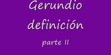 gerundio II