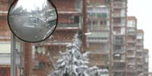 Calles nevadas, Madrid