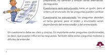 PRIMARIA 4º - LENGUA CASTELLANA Y LITERATURA - EL CUESTIONARIO