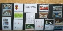 Posiciones básicas de Esgrima en Primaria. Jarama Rivas.
