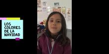 Infantil 4 B nos desea felices fiestas con un villancico_CEIP FDLR_Las Rozas