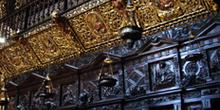 Sillería del coro de la Catedral de Orense, Galicia
