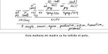 •Práctica análisis sintáctico oraciones SE (III)