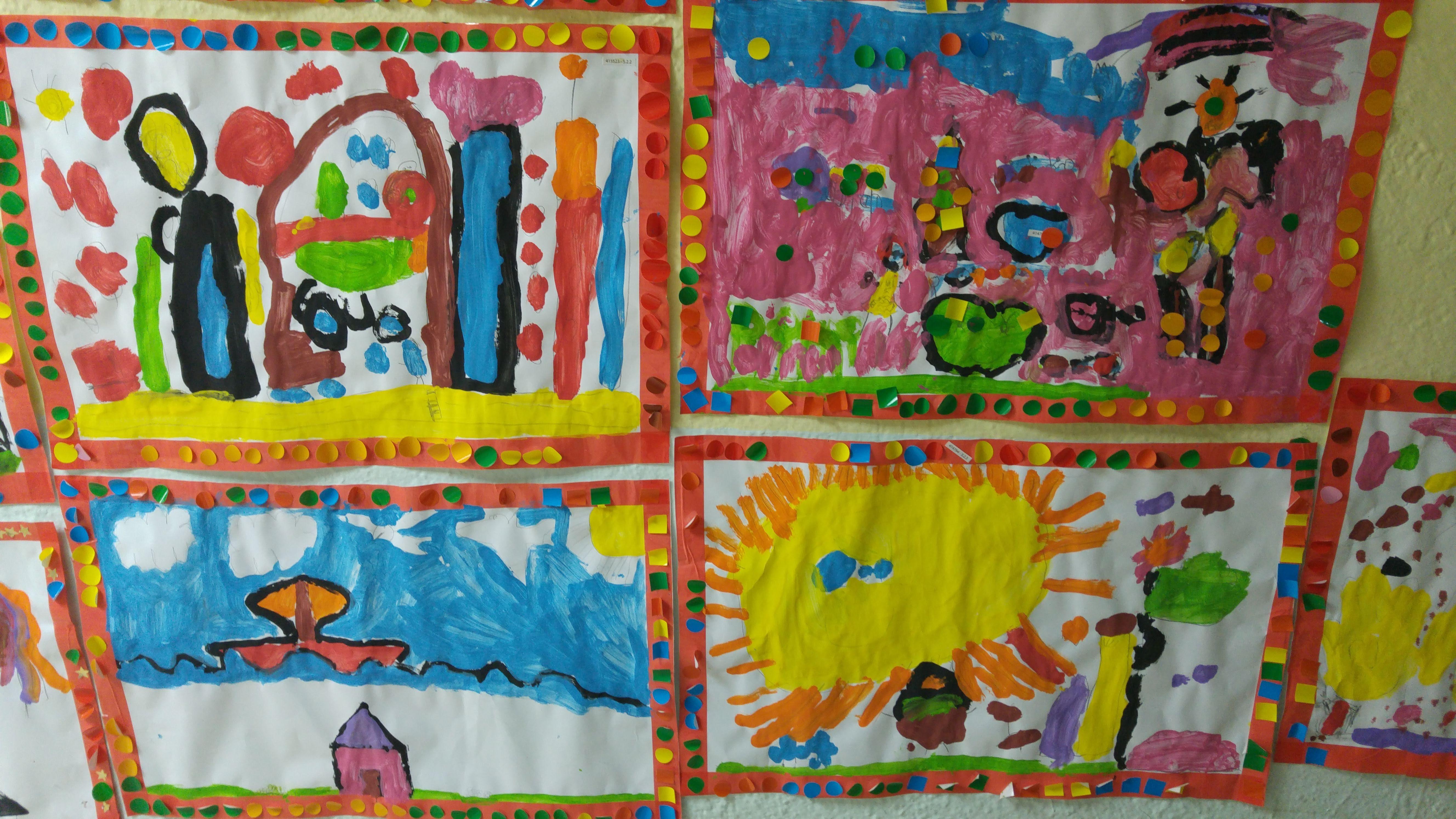 TALLER DE PINTURA CREATIVA ED. INFANTIL 4