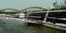 Transporte fluvial por el Rhin, Alemania