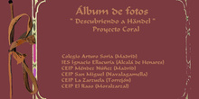 ÁLBUM DE FOTOGRAFÍAS DEL PROYECTO CORAL ADOPTAR UN MÚSICO (II)