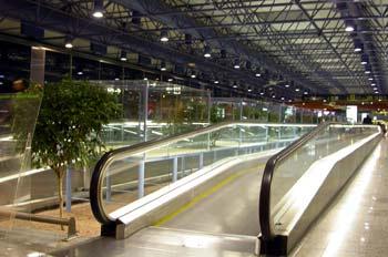 Aeropuerto de Barajas, cintas transportadoras, Madrid
