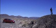 Hombre sobre montículo, Canarias