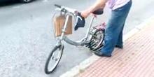 Rejillas peligrosas para bicicletas