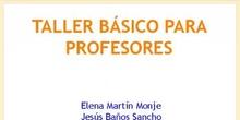 Taller básico para profesores