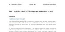 DETECCIÓN COVID-19 POR PCR EN TIEMPO REAL