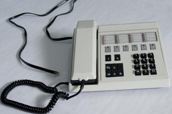 Teléfono específico centralita multilíneas analógica
