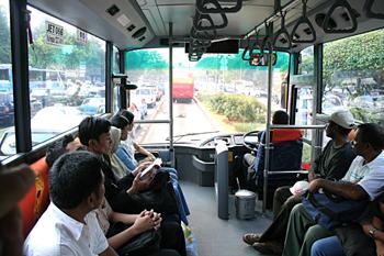Autobús, Jakarta, Indonesia