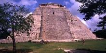 Cara este de la Pirámide del Adivino, Uxmal, México
