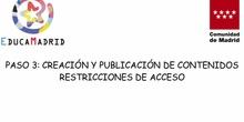 Restricciones de acceso a los contenidos