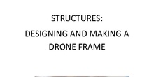 Structures. Drone frame