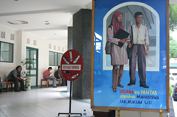 Vestimenta, Universidad Islámica, Jogyakarta, Indonesia