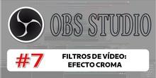 OBS 7 - Filtros de vídeo: efecto croma