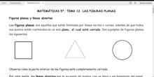 TEMA 13. LAS FIGURAS PLANAS