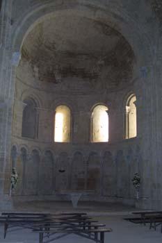 ábside en el Monasterio de Loarre, Huesca