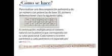 PRIMARIA - 6º - DESCOMPOSICIÓN POLINÓMICA DE UN NÚMERO - MATEMÁTICAS