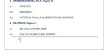 LOS MOLINOS, AULA TGD