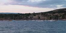 Barcos en el pantano de Cervera de Buitrago