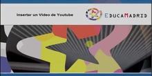 Insertar vídeos de Youtube
