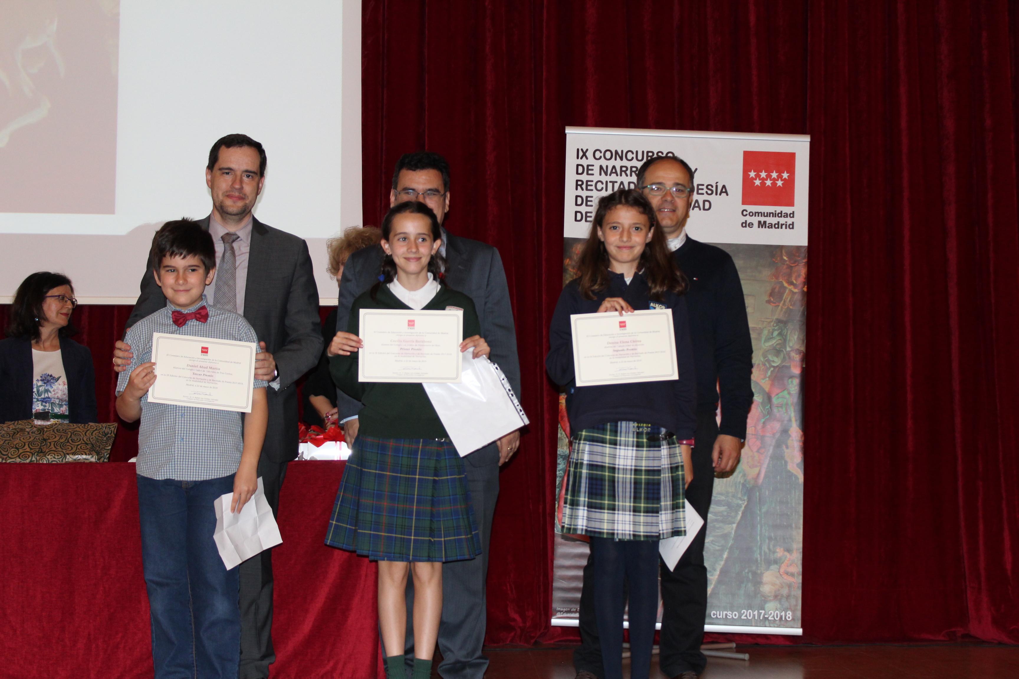 Entrega de los premios del IX Concurso de Narración y Recitado de Poesía 17