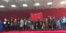 Actuación Navidad 3º de Primaria, San Gregorio