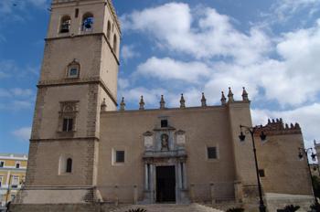 Vista exterior, Catedral de Badajoz