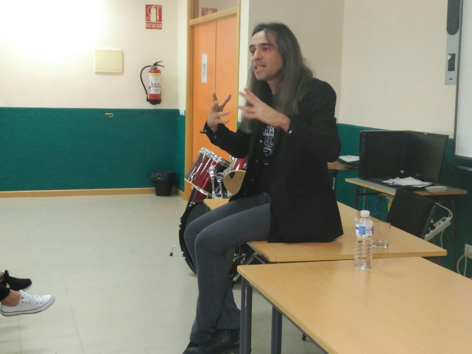 Álvaro Tato - Encuentro con los actores del IES Nicolás Copérnico 4