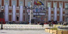 Preparativos del homenaje a las fuerzas de seguridad