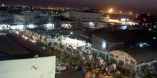 Puerto de Djibouti de noche, Rep. de Djibouti, áfrica