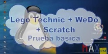 Lego Technic + WeDo + Scratch