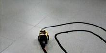 Robot programable siguelíneas de cuando no existía arduino
