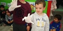 Taller Infantil 3 años. Primeros auxilios. Semana Cultural 2
