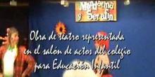 """""""MANDARINA Y SERAFÍN"""" Obra de teatro para Infantil"""