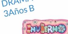 INFANTIL - 3 AÑOS - YA LLEGÓ EL INVIERNO - DRAMA - FORMACIÓN