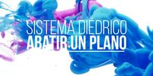 Abatir un plano en Sistema Diédrico