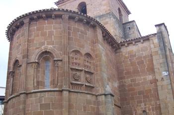 ábside, Iglesia de San Juan de la Rabanera, Soria, Castilla y Le