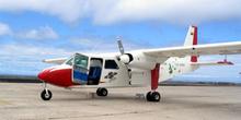 Avioneta bimotor y Taxi aéreo, Ecuador