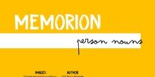 WBT- Memorion - Person nouns