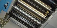 Batería de rodillos del cuerpo impresor