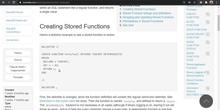MariaDB, MySQL - Programación - FUNCTION